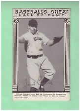 1948 Hall of Fame Exhibits Frank Chance EX