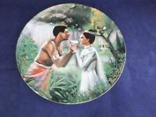 Knowles Collector Display Cabinet Plate The King & I  - We Kiss in a Shadow.