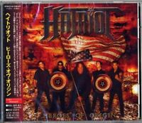 HATRIOT-HEROES OF ORIGIN-JAPAN CD BONUS TRACK F75