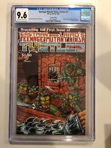 Teenage Mutant Ninja Turtles 1 1985 Mirage Studios Fourth Printing CGC 9.6 NM+