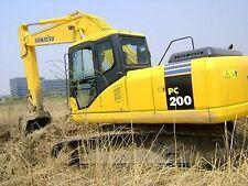 Komatsu PC 200-7 & PC220-7 Excavator Workshop Manual