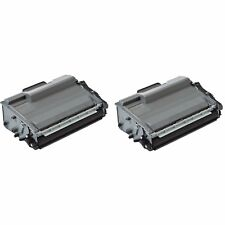2 x Compatible NON-OEM TN3480 Black Toner Cartridge For Brother DCP-L6600DW