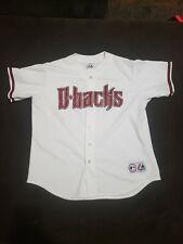 Arizona Diamondbacks Baseball Jersey Mens XL 48 Majestic Dbacks Mlb Button Up