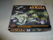 NOBEL ARMADA STARSHIP MINIATURES GAME 1998 FADING SUNS NR COMPLETE HOLISTIC >>
