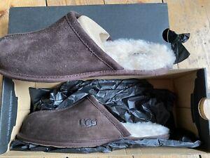 UGG Scuff Slippers Dark Brown Size 7/41