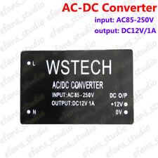 AC-DC Step Down Voltage Converter AC85-250V 110V 220V to 12V 1A Mini Buck Module