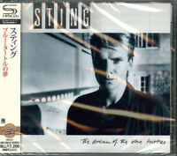 STING-THE DREAM OF THE BLUE TURTLES-JAPAN SHM-CD E50