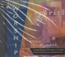 John Wimber & Vineyard, Acoustic Worship, Spirit Song, CD, New & Sealed