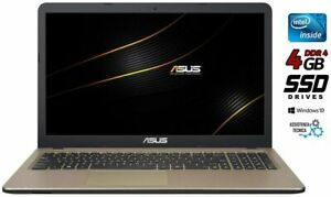 "Asus Notebook,Cpu Intel dual core,15.6"" SSD 240 Gb,4Gb, WIN 10  READY TO USE"