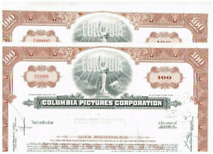 Set 2 Columbia Pictures Corp., 1960er, VF
