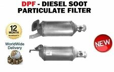 OPEL MOVANO 2.5 CDTi 2003--> NEW DPF DIESEL SOOT PARTICULATE FILTER