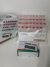 The Med Center System 31 Day Monthly Medicine Pill Organizer W/Alarm