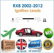 Para Mazda RX8 1.3 2002-2012 Ht Ignición Bujía conduce Set Nuevo