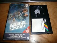 Star Wars The Empire Strikes Back Vintage Betamax Beta (Not VHS) - Rare