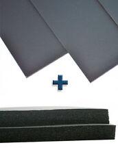 2 Shts 12x12x1 Sheath/Holster Making Foam+2 Shts 8x12 Kydex T- Blk-DIY Material
