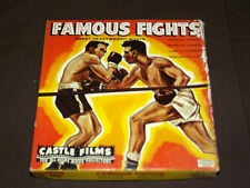 VINTAGE BOXING HEAVY WEIGHT BOUTS  8MM FILM PROJECTOR CASTLE FILMS FAMOUS FIGHTS
