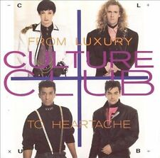 From Luxury to Heartache by Culture Club (CD, Dec-1986, Virgin)