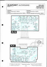 blaupunkt genuine service manual car f  beq-ms beq ms
