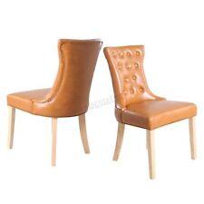 2 Chaises marron pour la maison