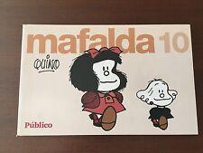 MAFALDA VOLUMEN 10 - TIRAS DE QUINO - 84 PAGS - COLECCIONABLE PUBLICO - SPANISH