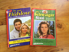 zwei Kelter Romanhefte Dr. von Bühlow Nr. 15 und Die Schwaiger Sissi Nr. 2