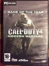 Call of Duty 4 Game Of The Year Edition Pc New & Sealed