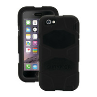 GRIFFIN SURVIVOR ALL TERRAIN CASE COVER FOR IPHONE 8/7/6 - BLACK - GB42761