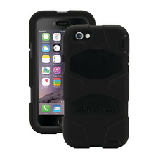 Griffin Survivor All Terrain CASE COVER PER IPHONE 8/7/6 - Nero-GB42761