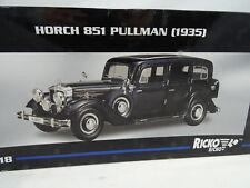 1:18 RICKO #32109 Horch 851 pullman 1935 Noir 1. édition - RARE §