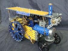 Macchina a vapore Meccano motorizzata trebbiatrice trattore