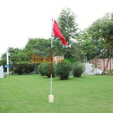 Backyard Practice Golf Hole Pole Cup Flag Stick Putting Green Flagstick #ORP