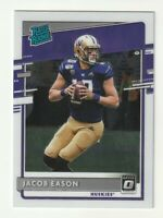 2020 Panini Chronicles RC Rated Rookie Optic Jacob Eason Indianapolis Colts #10