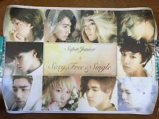 SUPER JUNIOR Sexy Free & Single Korea Official Promo Big size Poster NFS SUJU KR