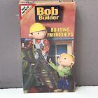 NEW Bob The Builder Building Friendships VHS Video Tape FACTORY SEALED Rare! VTG