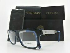 Versace MOD 3245 5237 55mm Men Black/Blue, Metal Medusa New Rx. Glasses w/Box