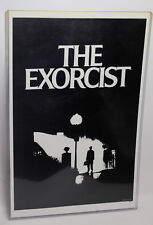 THE EXORCIST - BLACK & WHITE MOVIE POSTER  Printed USA One Sheet