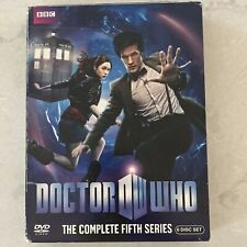 DOCTOR WHO: The Complete Fifth Series DVD (2010, 6-Disc Set) Dr Who