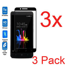 3X FULL COVER Tempered Glass For ZTE Blade Z Max Z982 Screen Protector