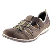 Zapatillas deportivas de mujer de tacón bajo (menos de 2,5 cm) de color principal beige de piel