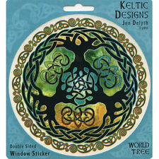 A126 - Celtic Branches Art Decal Window Sticker / Celtic Art / Jen Delyth