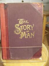 1889 The Story of Man by J.W. Buel 720 pages HOME