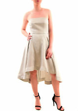 Keepsake Women's With You Midi Dress Strapless Pale Grey Size S RRP £120 BCF76