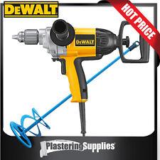 """DeWalt Mixer Spade Drill 1/2"""" 13mm 550RPM BONUS MIXING PADDLE D21520"""
