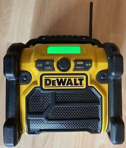 DeWALT Radio DCR019-QW Type 1 Mit 1x Akku XR Li-Ion 18 V  1,5Ah Akku