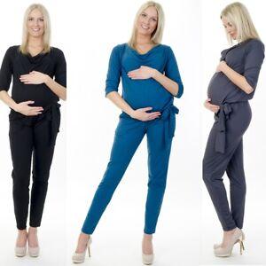 3in1 Umstandsmode Overall Einteiler Pregnancy Jumpsuit Umstandsoverall 71