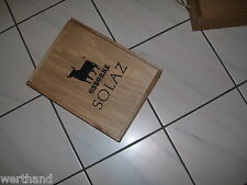 Solaz Osborne Holzkiste Weinkiste Box Holz-truhe Holzbox Verpackung Geschenke #