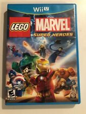 Nintendo Wii U LEGO Marvel Super Heroes 2013 Video Game