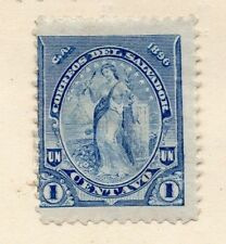 Salvador 1896 Early Issue Fine Mint Hinged 1c. 162551