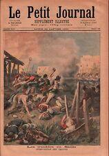 Revolt Mafia Cosa Nostra Sicilia Sicily Italy Italie Italia 1894 ILLUSTRATION