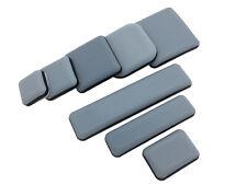Teflon Möbelgleiter quadratisch rechteckig selbstklebend Teflongleiter PTFE